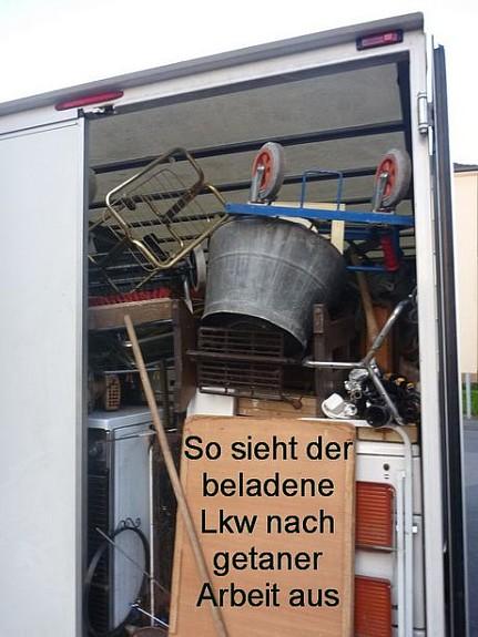 Lkw-beladen